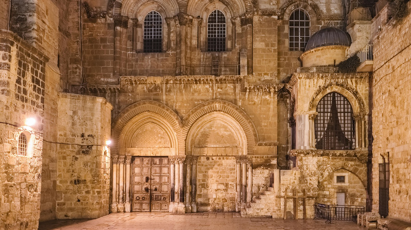 The Church of the Holy Sepulchre in Jerusalem has been closed to the public just before Easter