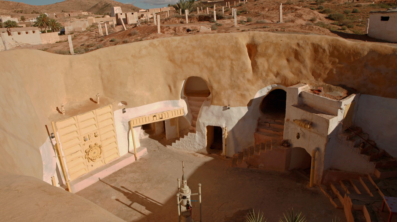 Sidi Driss in Matmata, Tunisia, was a location for parts of the 'Star Wars' movies