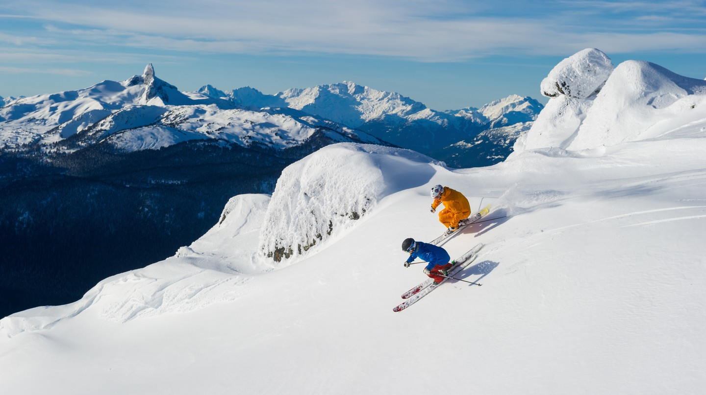 Winter sport enthusiasts flock to Whistler every year