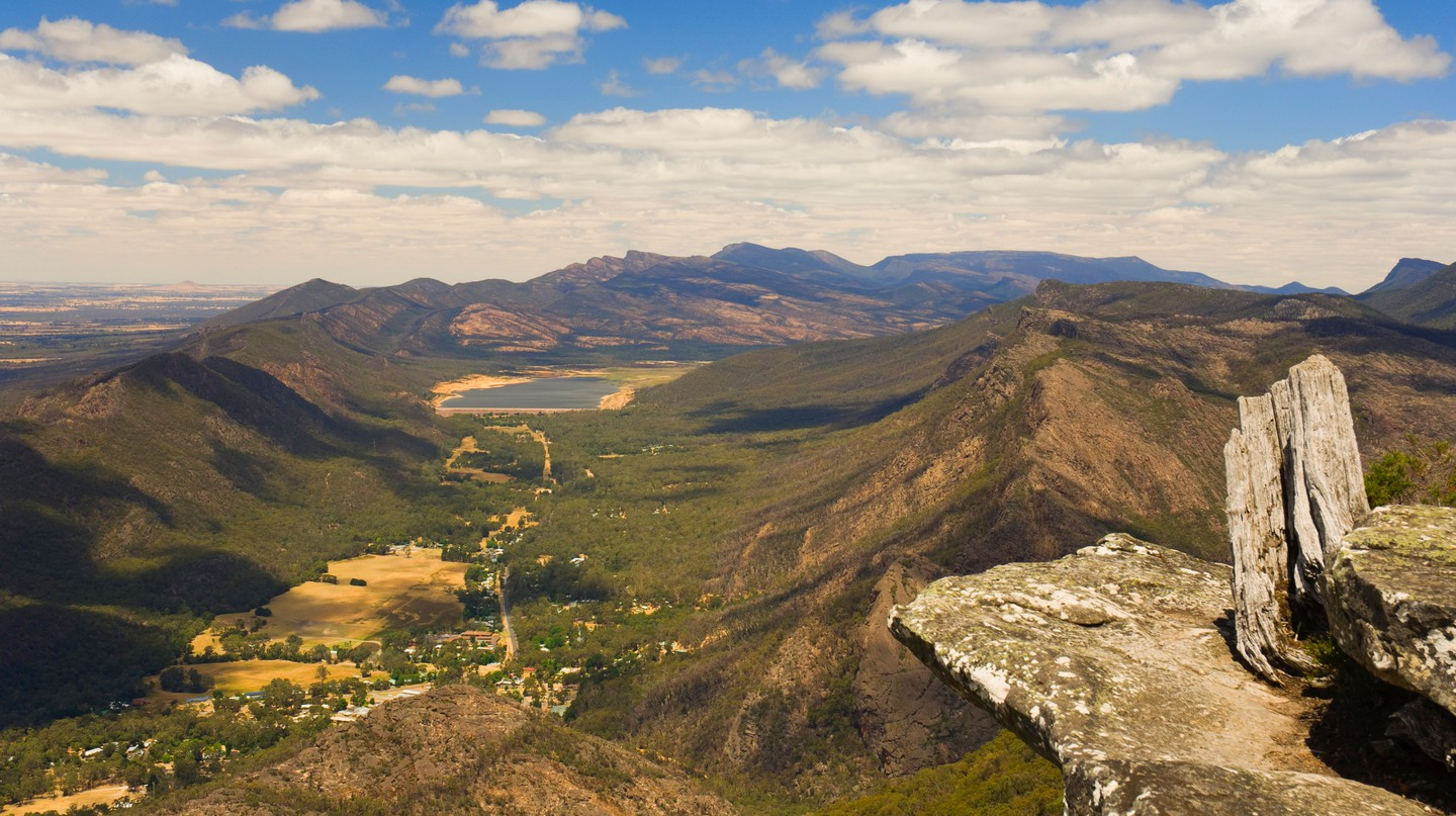 Admire dizzying views on a trip to Grampians National Park