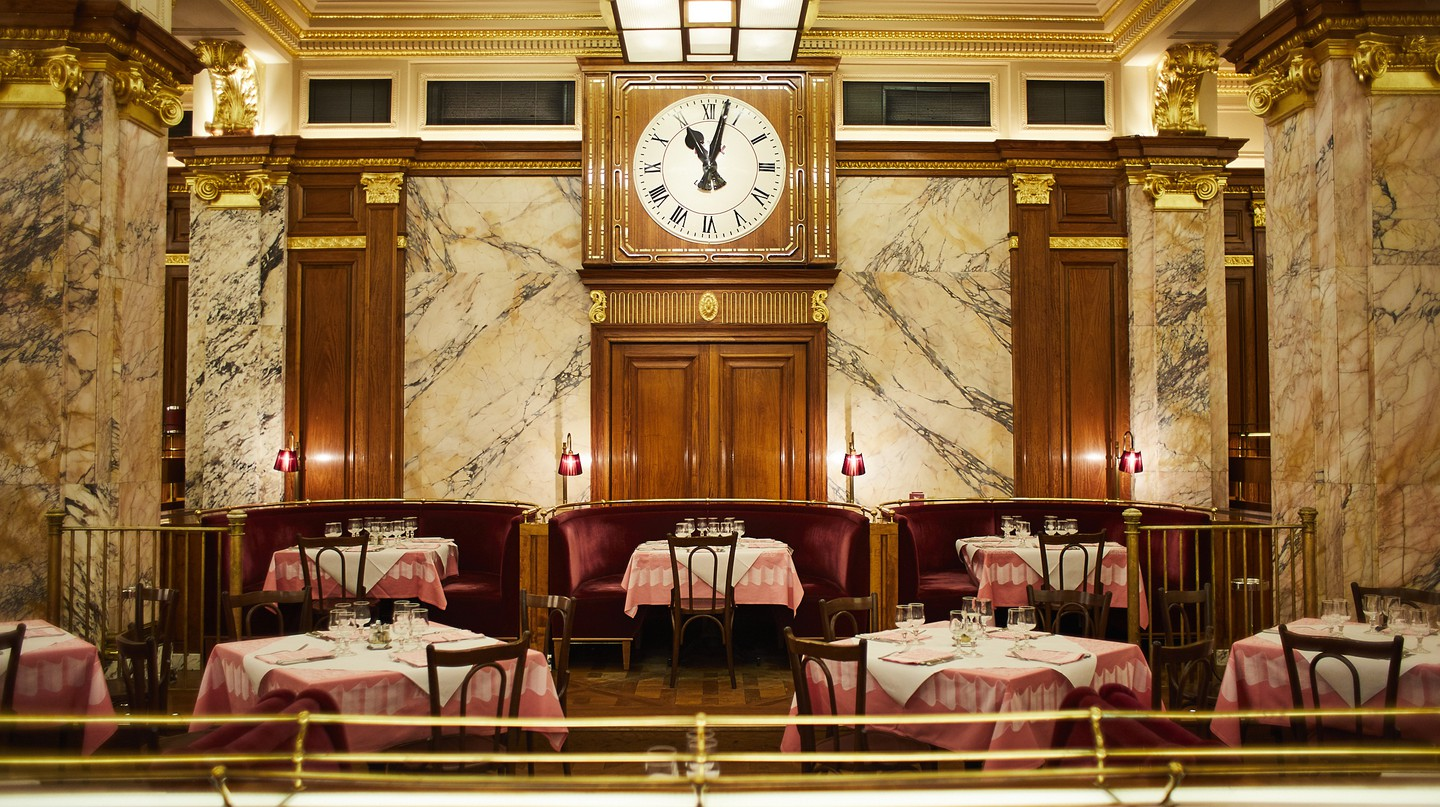 Seek out the culinary gems near Leicester Square, including Brasserie Zedel