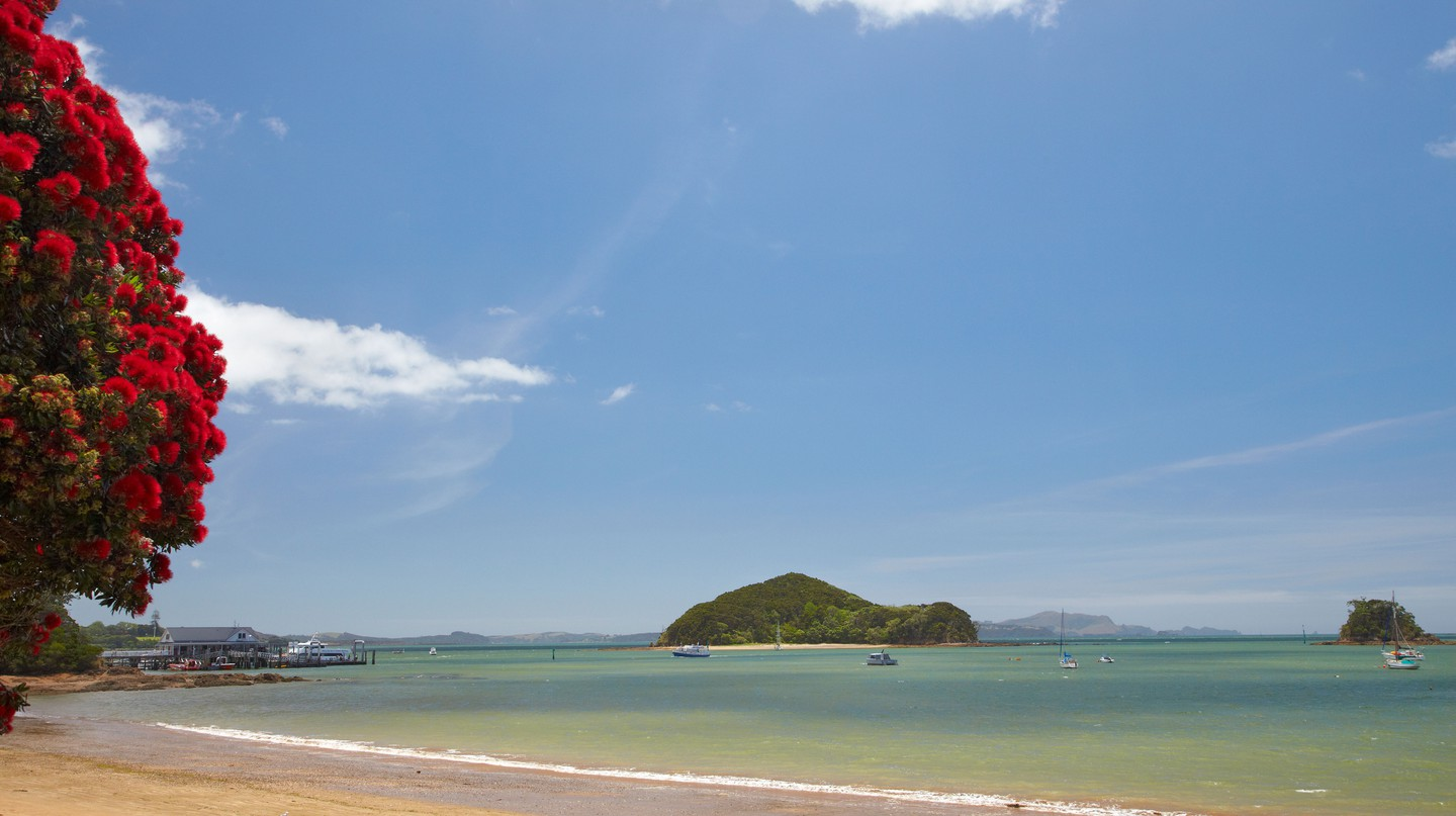 Paihia in the Bay of Islands offers beautiful views and a beachside setting