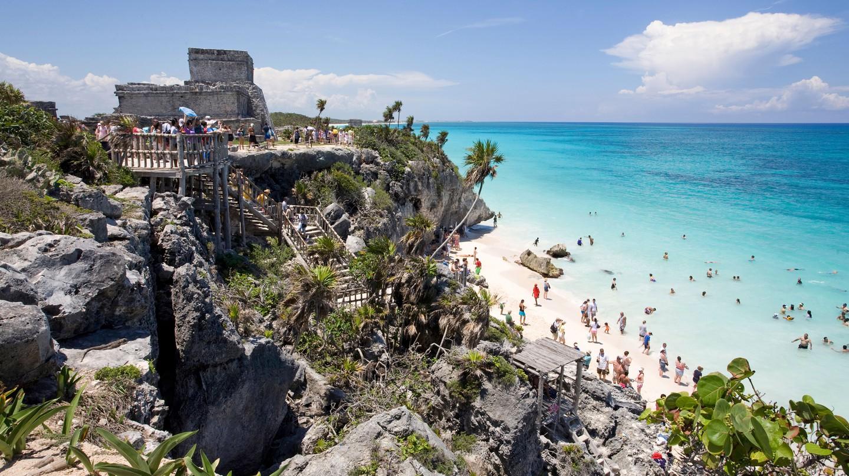 Tulum is a beachside paradise on the Mayan Riviera