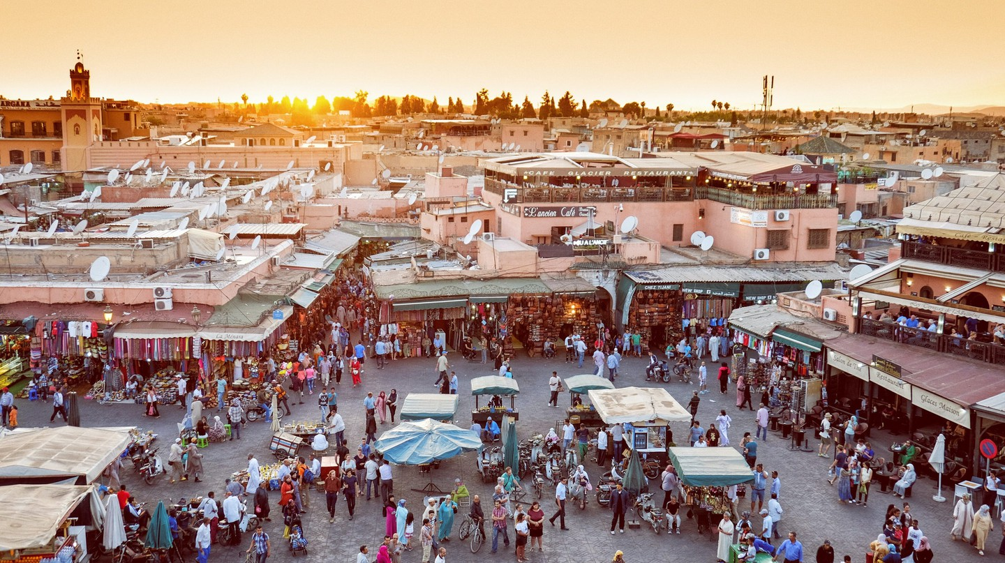 While in Marrakech, you can do lots of sightseeing on foot, keeping your carbon footprint to a minimum