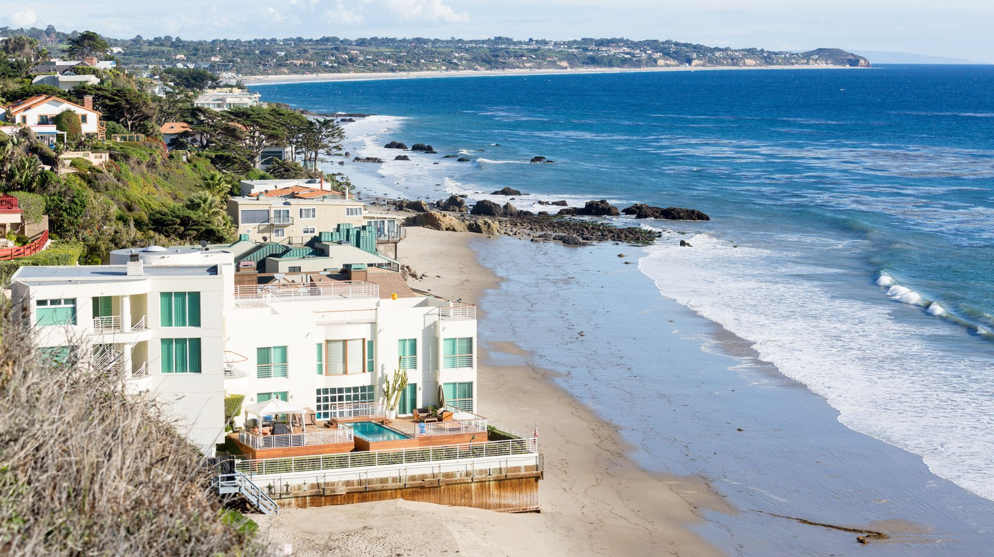 Spend a day celebrity spotting on the golden sand beaches of Malibu