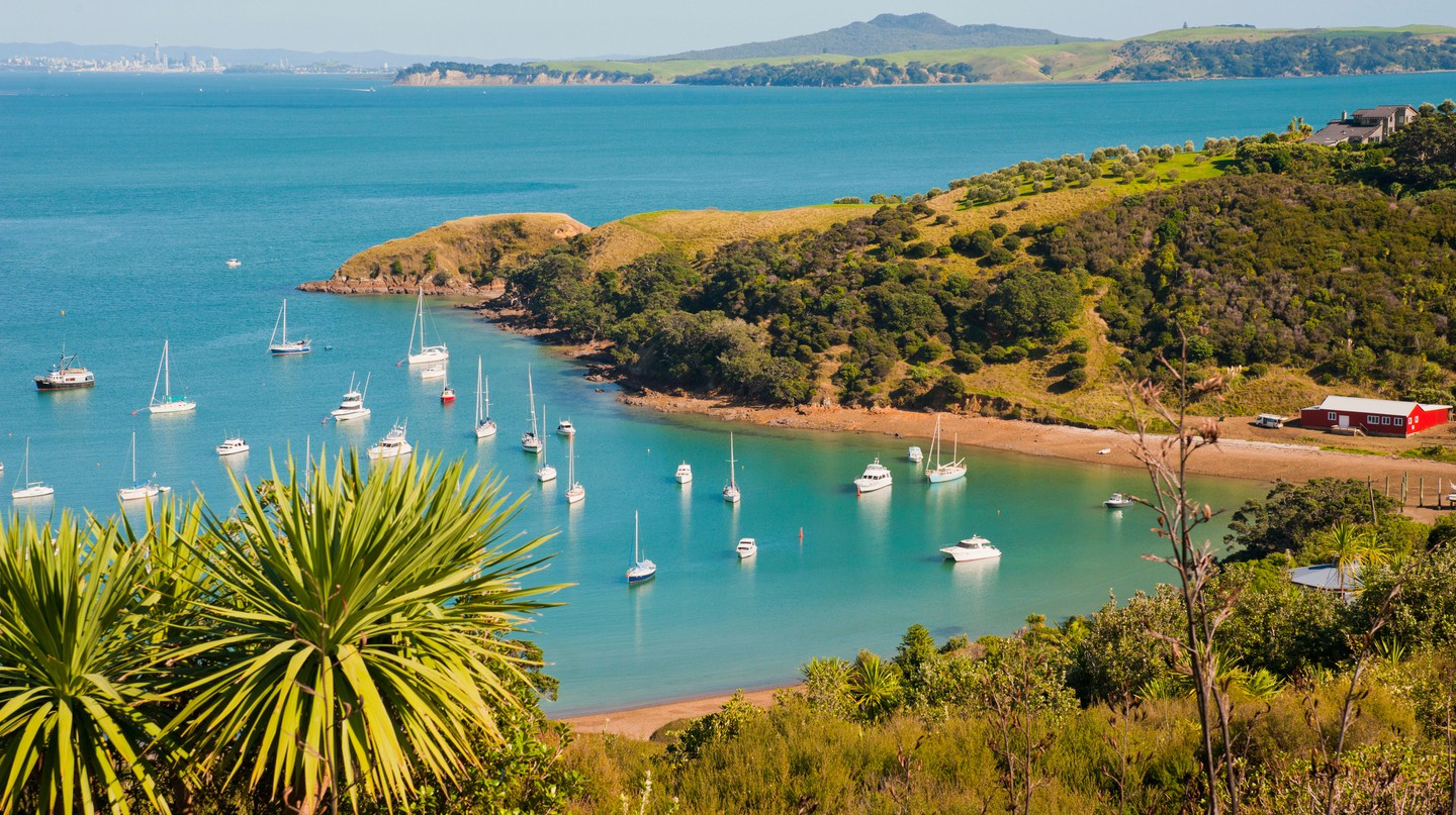 Idyllic beaches and vineyards await you on Waiheke Island