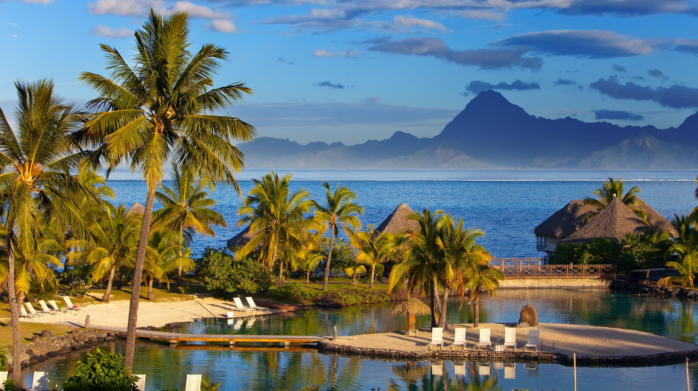The beautiful landscape and people of Tahiti, French Polynesia, have inspired artists over the years
