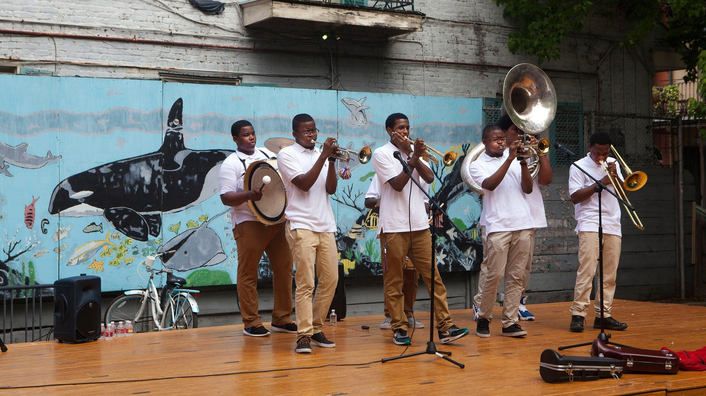 New Orleans' French Quarter is alive with the constant hum of live music