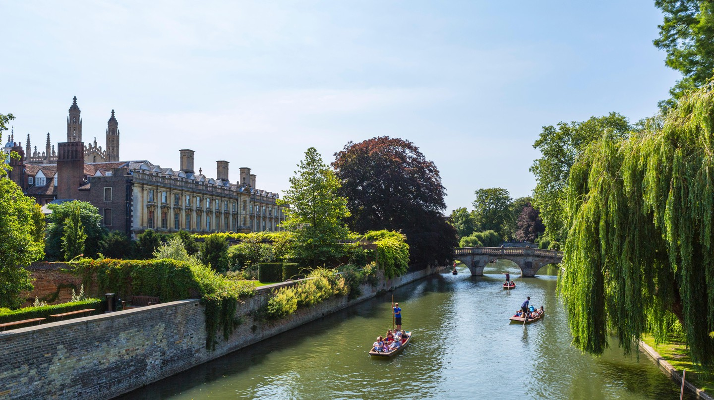 Punting on the River Cam is a quintessential Cambridge activity
