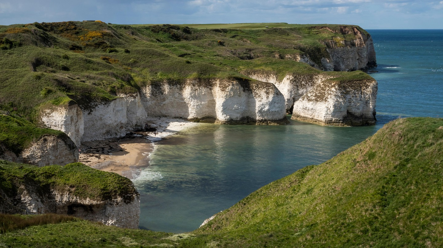 Selwicks Bay in East Yorkshire is home to the legendary Robin Lythe Cave