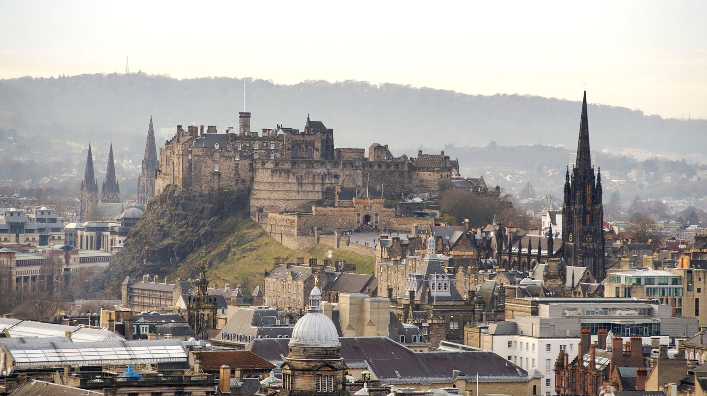 Edinburgh Castle is just one of the many attractions in this incredible city