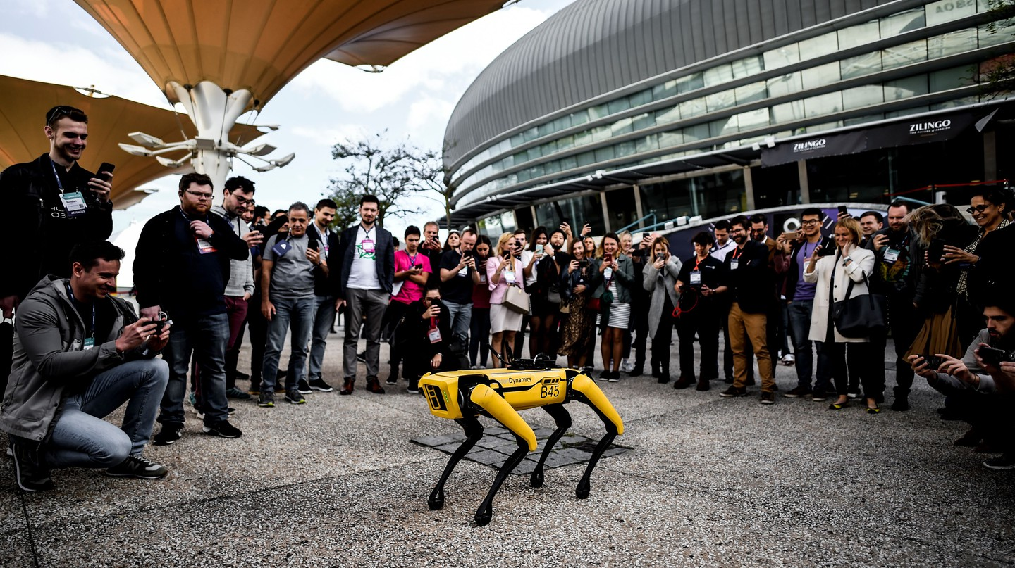 Spot, the robot dog, has been used by the Singaporean government to patrol parks and warn people to social-distance