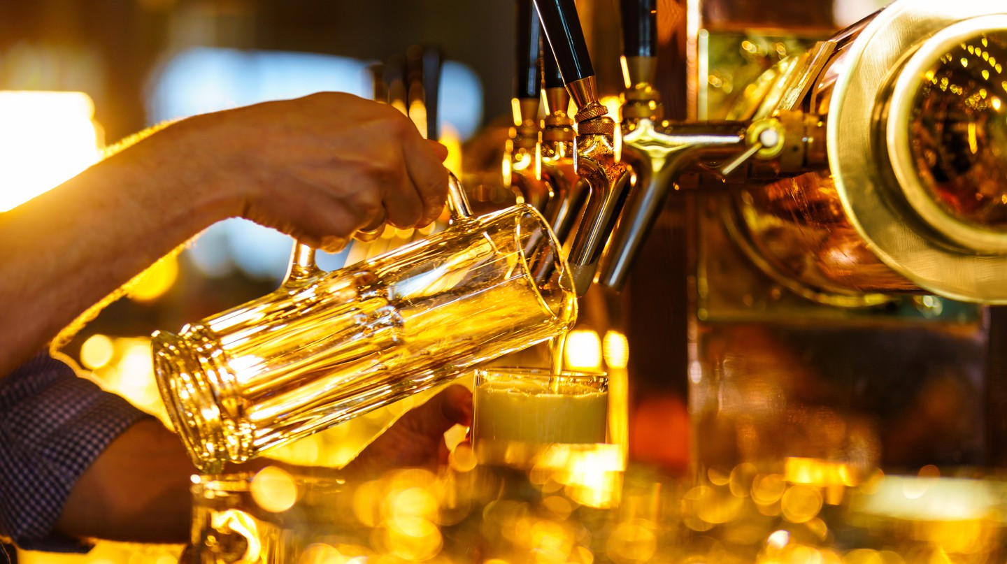 Bottoms up! Be sure to seek out a brew on your visit