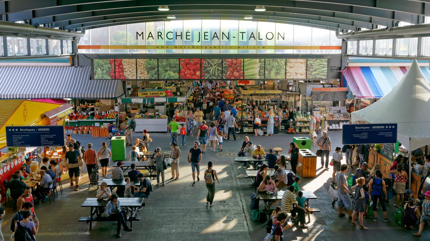 Jean-Talon Market is a great place to eat and shop