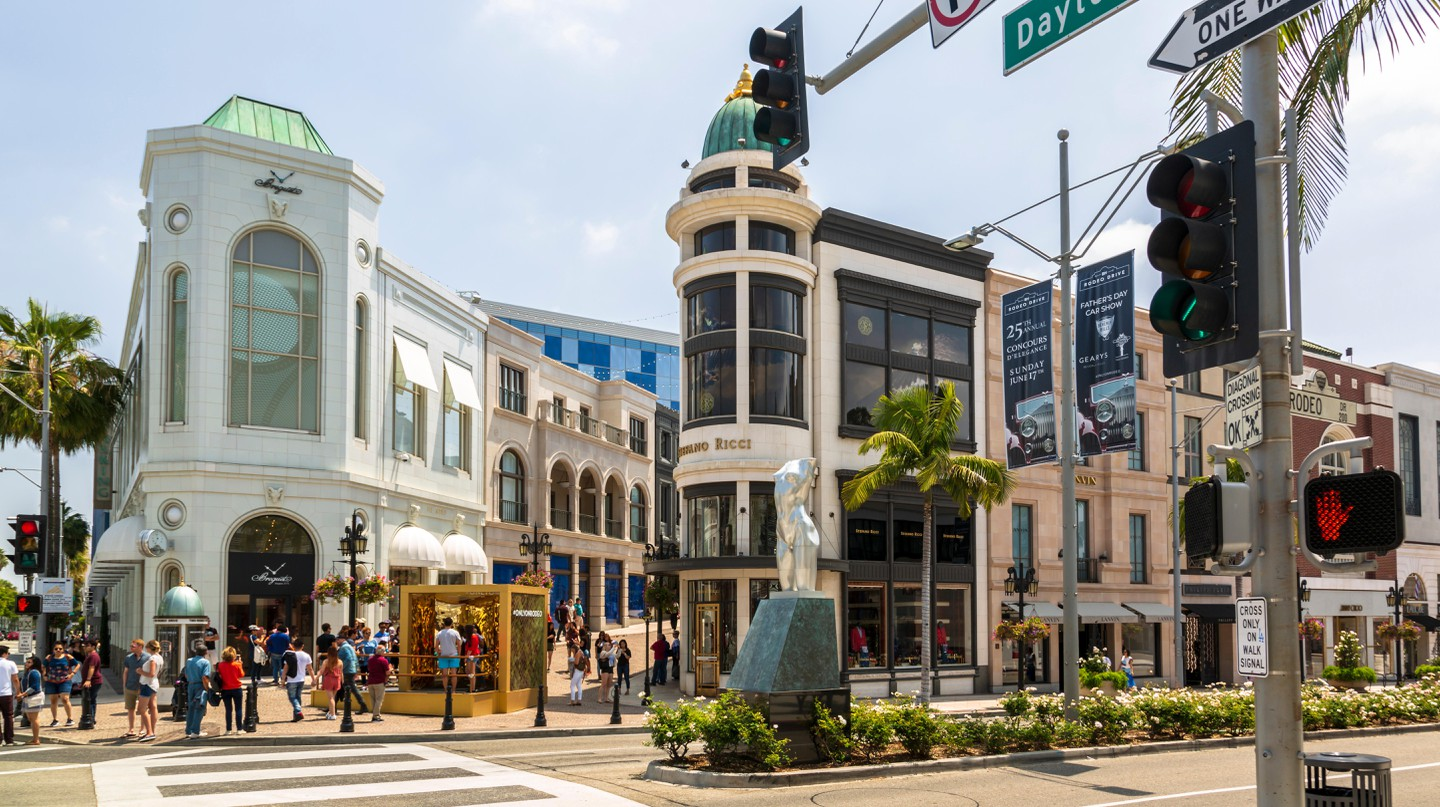 Spend time browsing the many stores on Rodeo Drive
