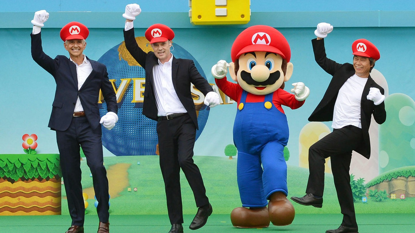 Make like Mario with a visit to Super Nintendo World, due to open in Osaka this summer