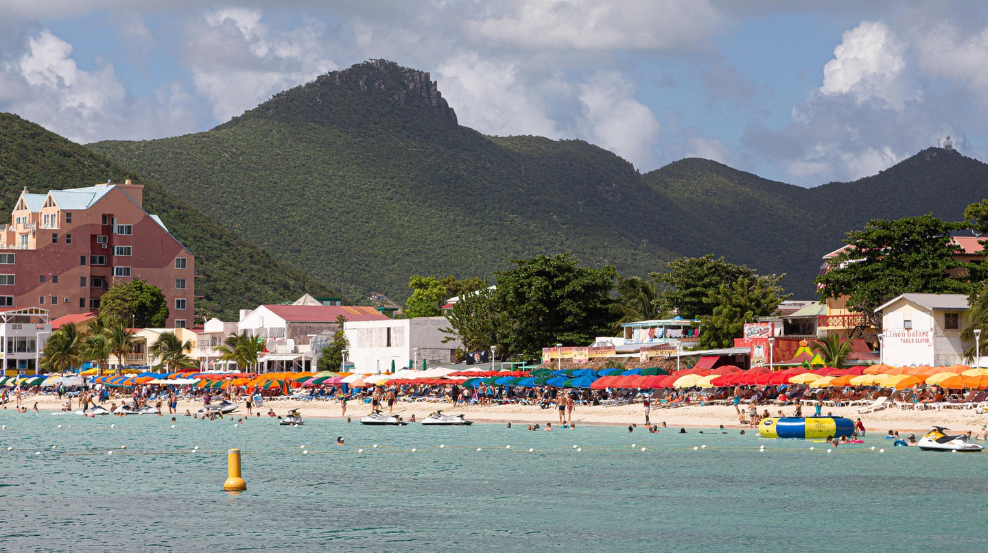 Philipsburg is the lively capital of the Dutch Sint Maarten