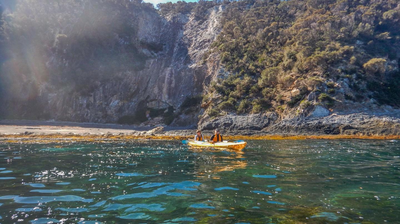 Take a half-day sea kayak tour from Batemans Bay, New South Wales