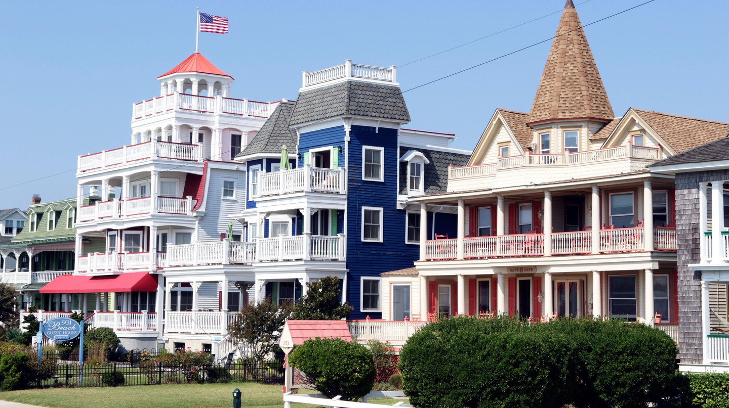 Examples of architecture in Cape May, New Jersey.