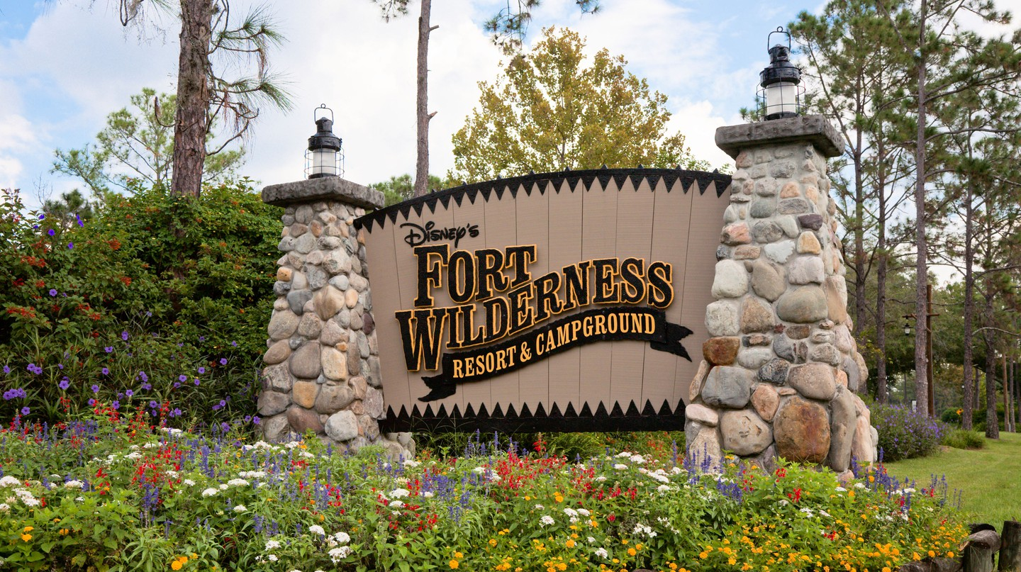 Both children and adults will love camping at Disney's Fort Wilderness