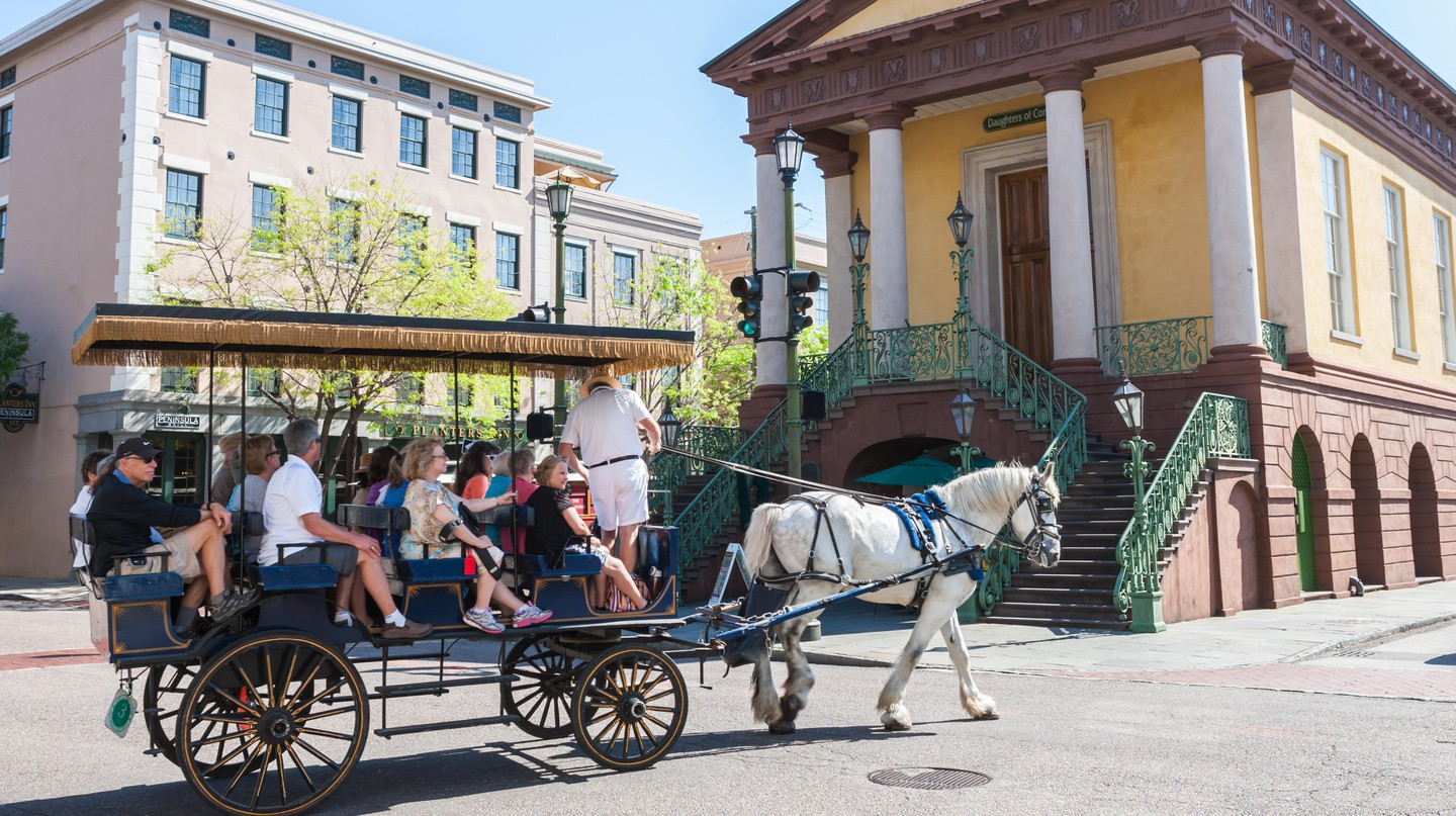 To get your fill of Charleston's history, visit its Historic District