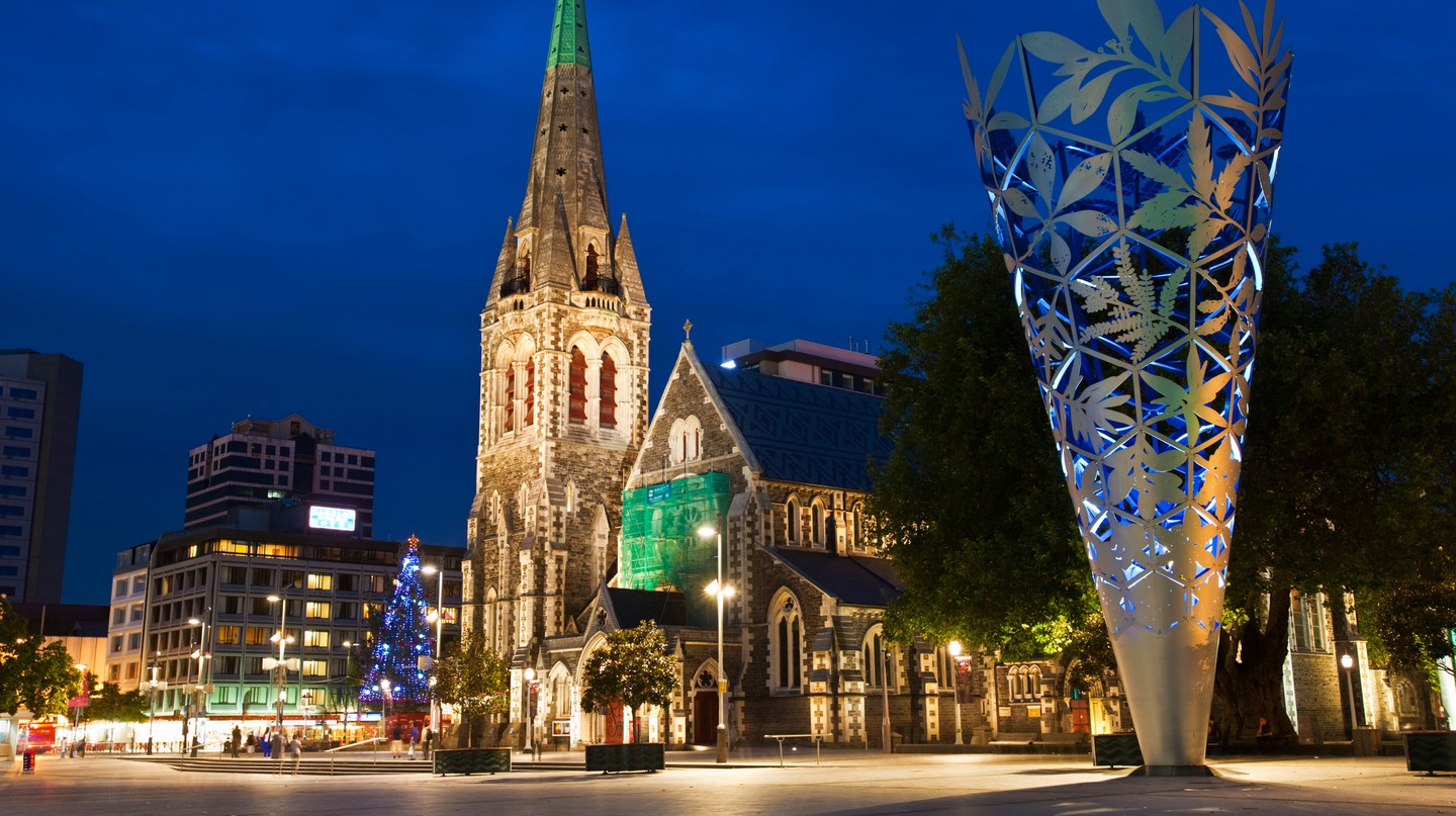 Explore Christchurch at night for an insightful take on the city
