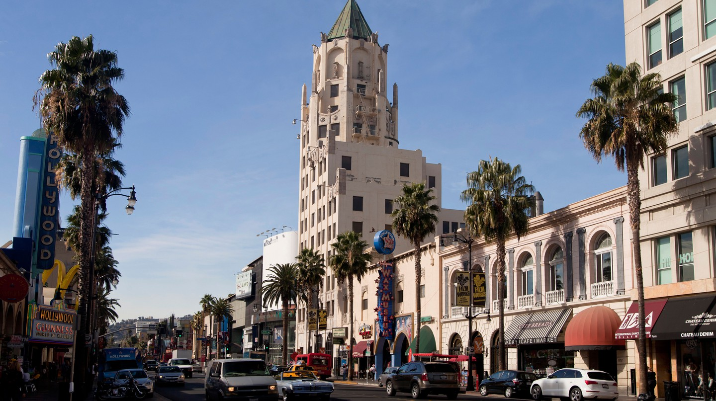 Walk among the great and the good on the iconic Hollywood Boulevard