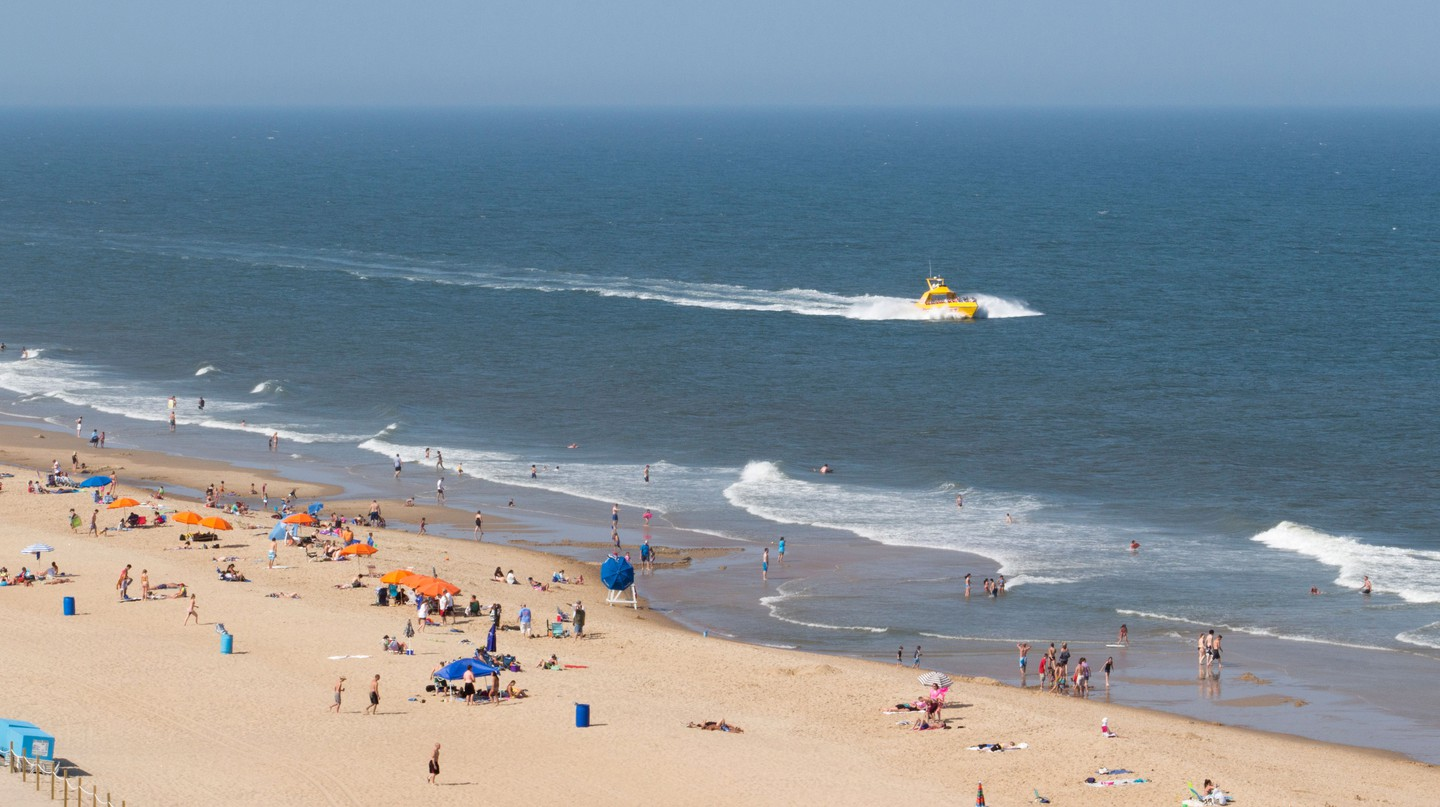 Ocean City, in Maryland, is one of the beaches accessible from Washington DC