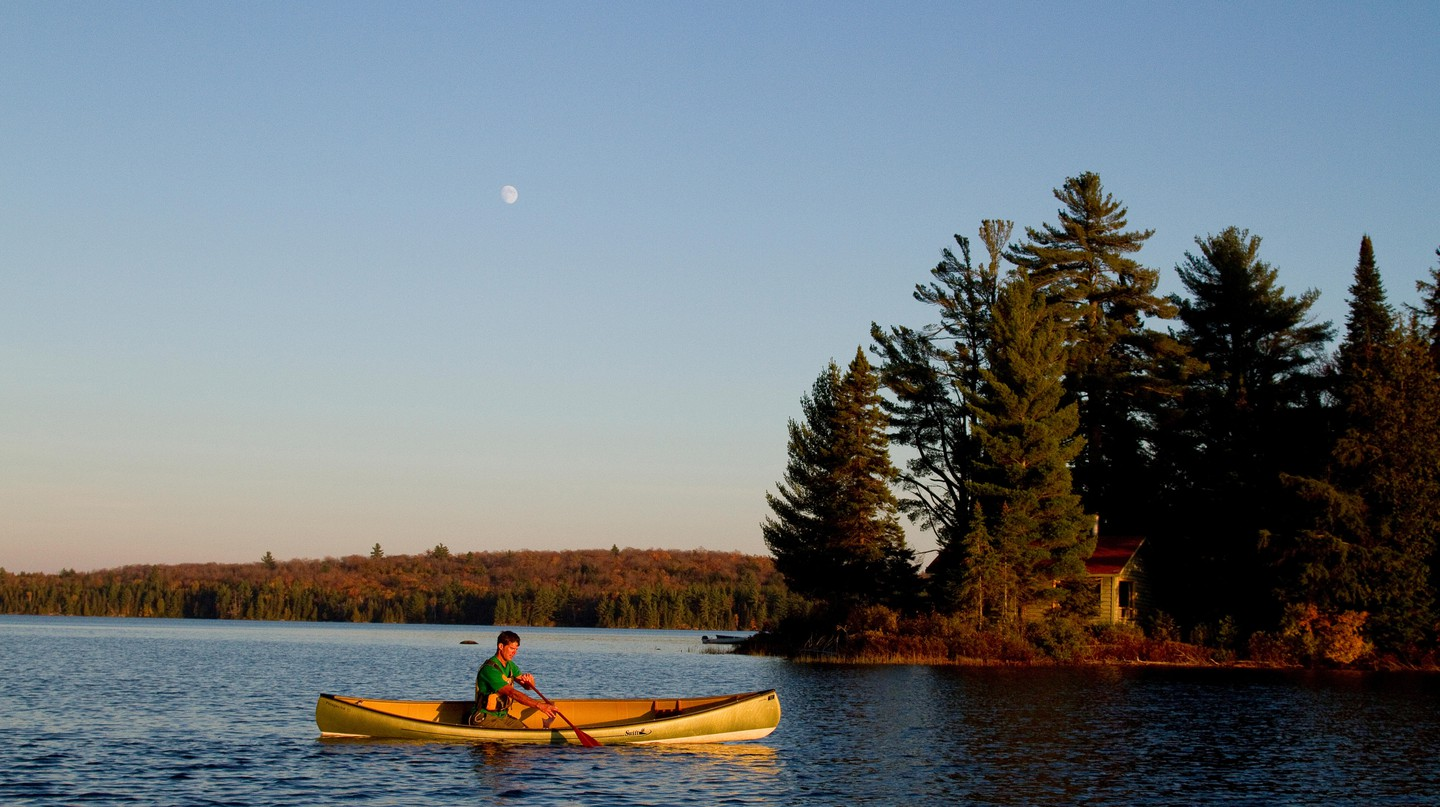 Algonquin Park near Toronto is among the many beautiful spots within reach of the city