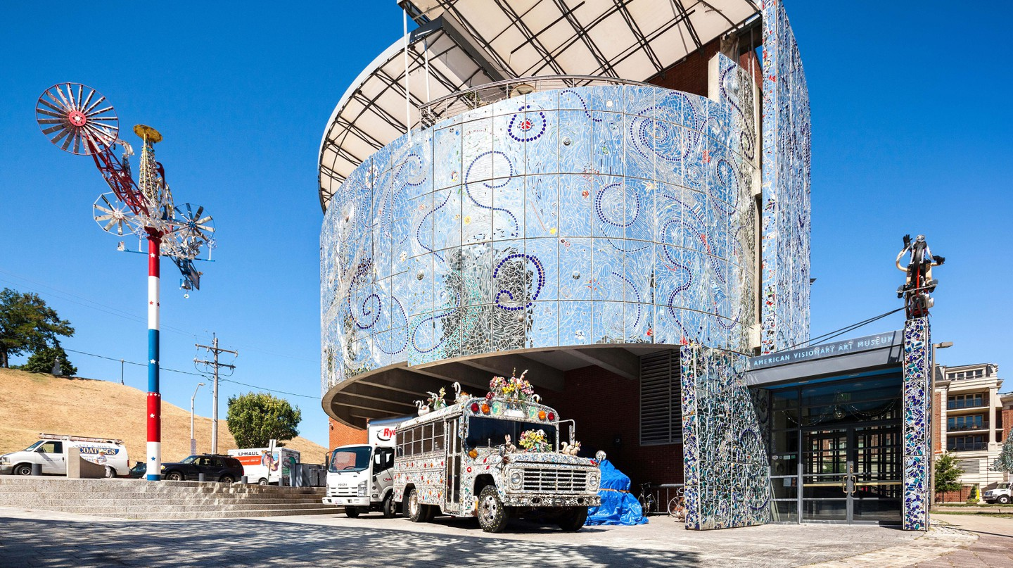 For a dose of outsider art, which kids will love, visit the American Visionary Art Museum in Baltimore