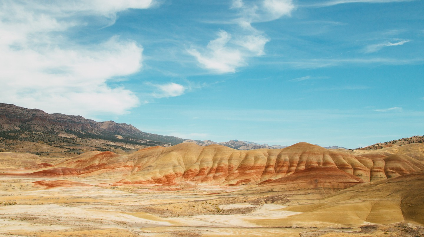 Explore the incredible range of geological feats at John Day Fossil Beds National Monument, near Portland