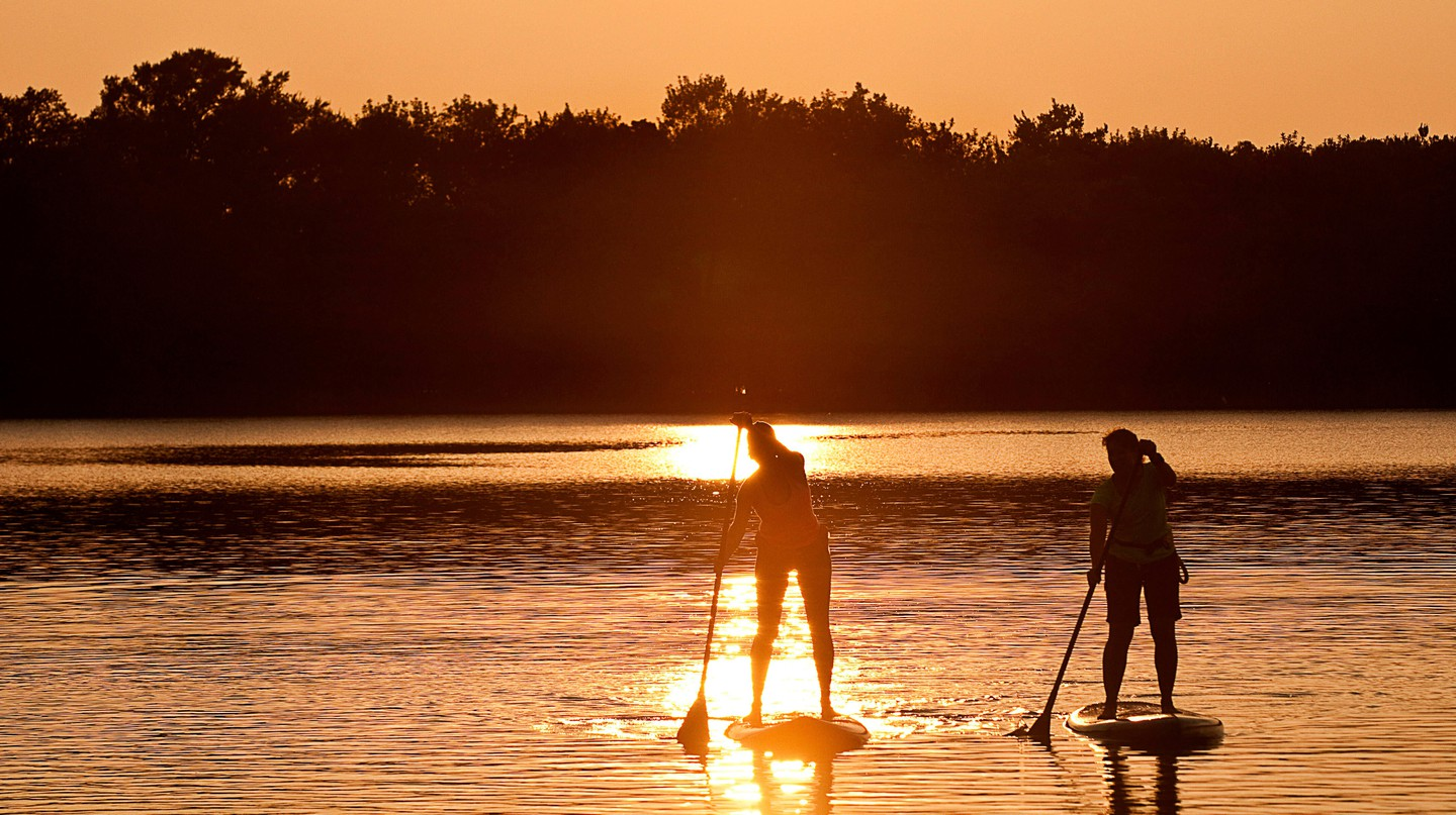 Head to Lake Worth's beautiful lakes for outdoor adventure
