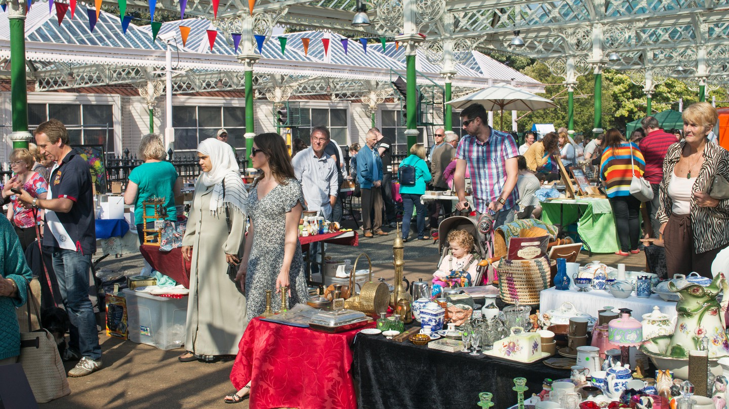 Wherever you are in the UK, there's sure to be a flea market or car boot sale brimming with treasures nearby
