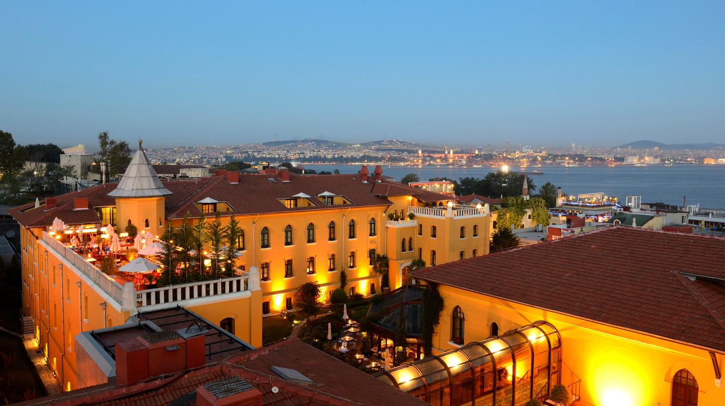 The Four Seasons Hotel in Istanbul used to be the city's first prison house which had many writers incarcerated within