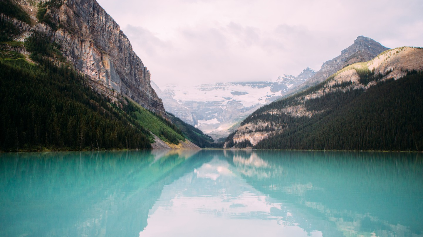 Lake Louise is known as the Jewel of the Canadian Rockies