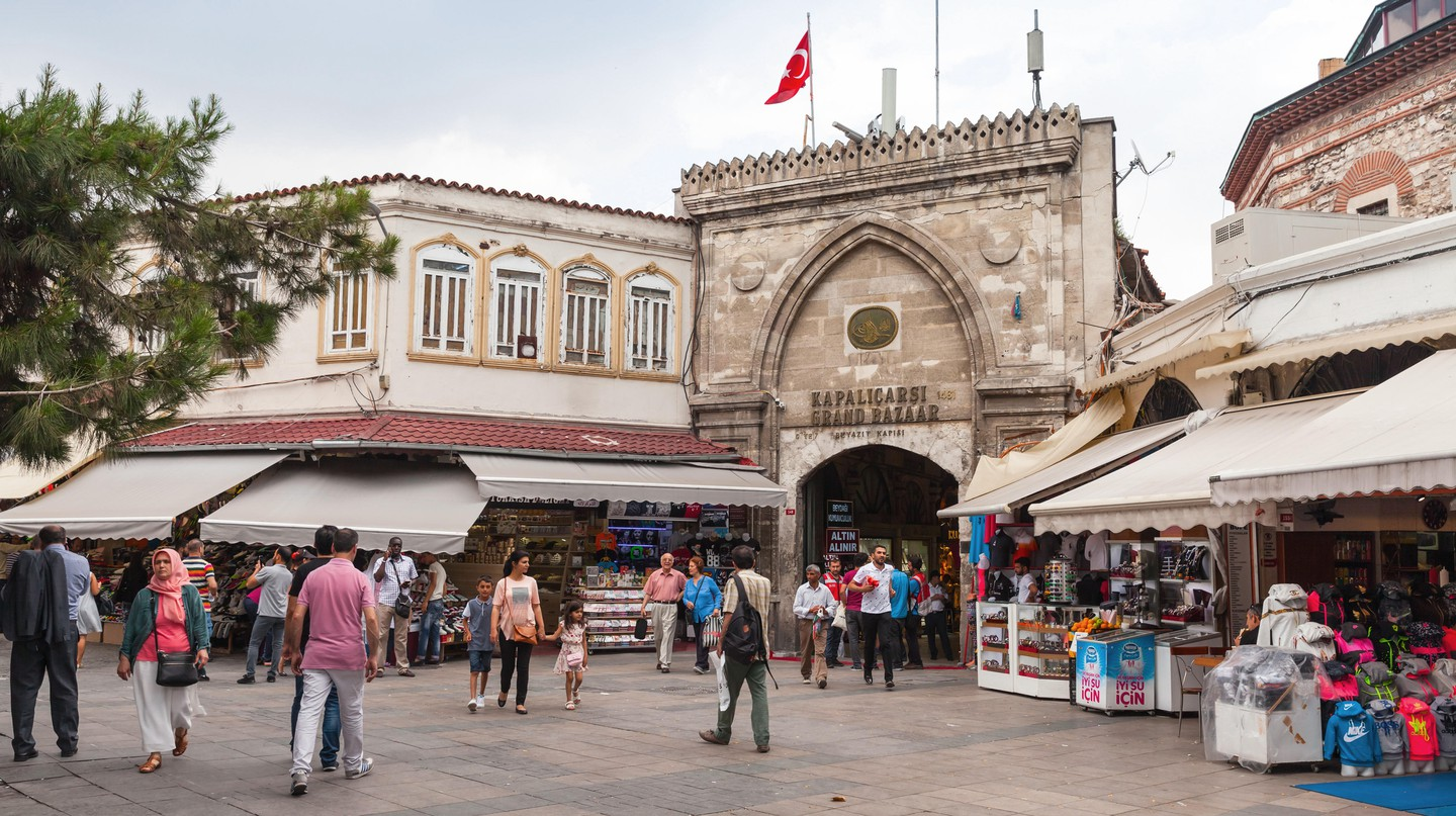 The Grand Bazaar in Istanbul sees 91m visitors a year in normal times