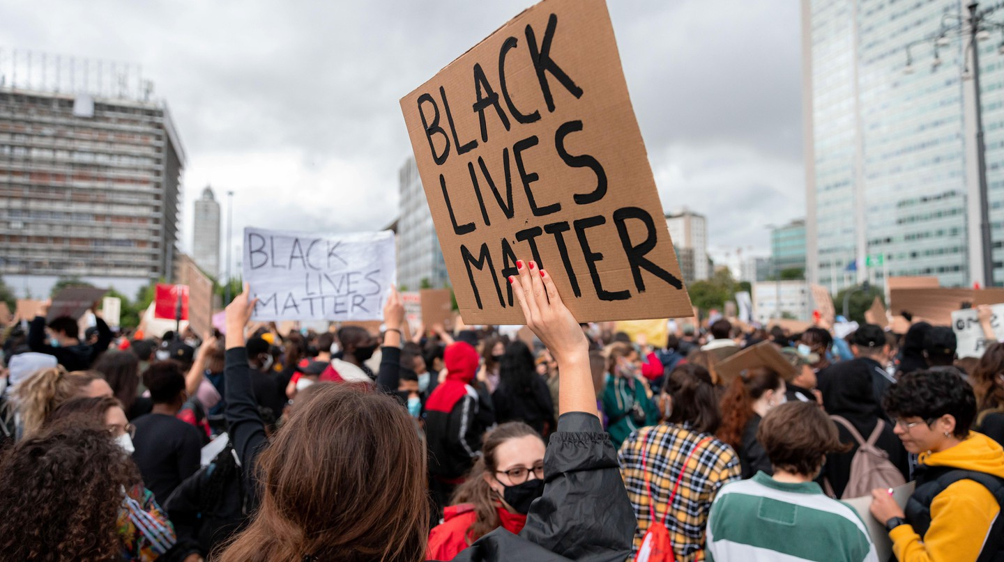 This Black Lives Matter protest in Milan, on June 7, 2020, was one of thousands that took place all over the world after the death of George Floyd