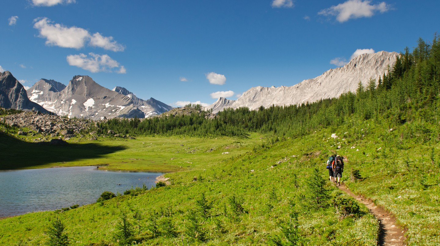 Kananaskis in the Canadian Rockies is a labyrinth of hiking trails