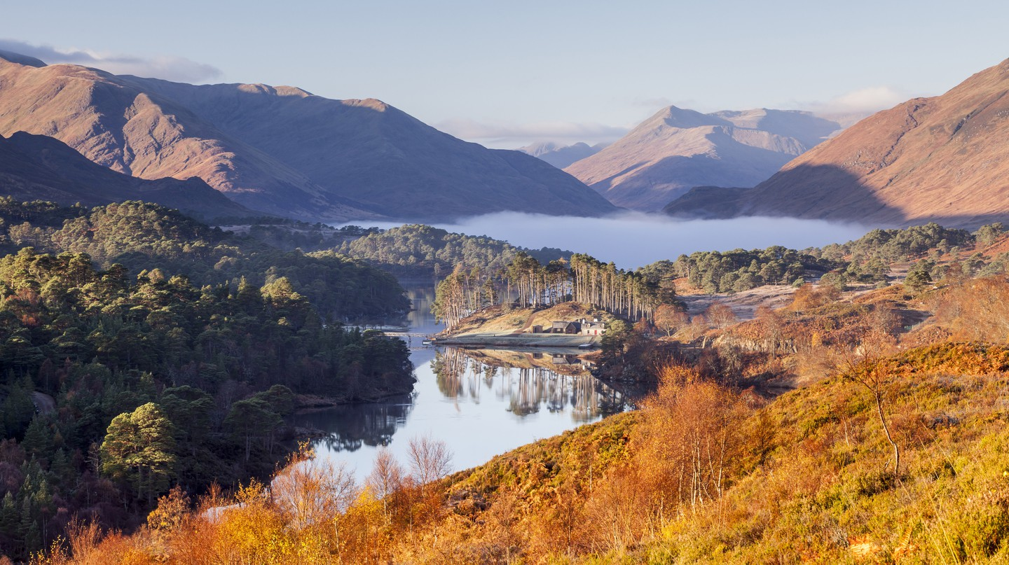 Anyone on mainland UK can now visit Scotland, including the stunning Glen Affric, not far from Loch Ness in the Highlands