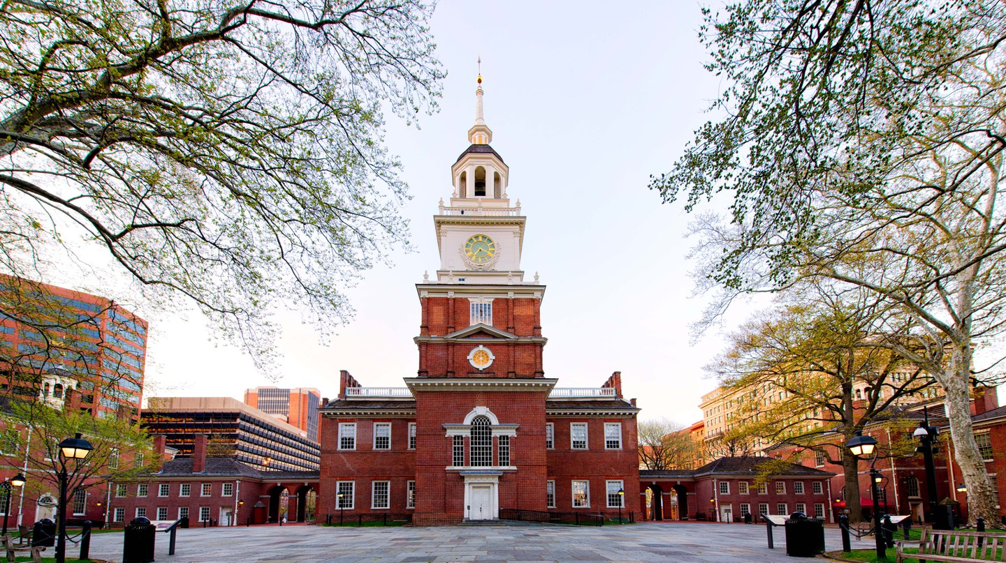 The foundations of American democracy were built in Philadelphia