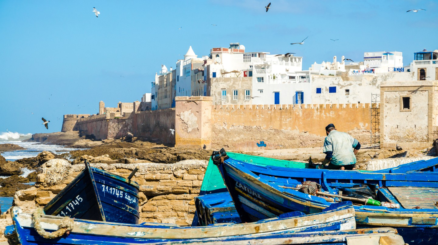 Essaouira, on the Atlantic coast, offers the perfect mix of culture and watersports