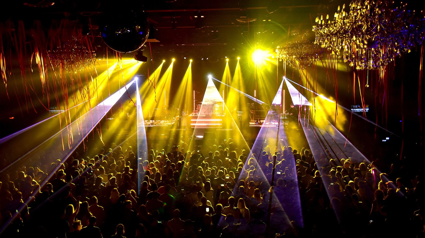 The Fillmore Philadelphia's main space can hold up to 2,500 people