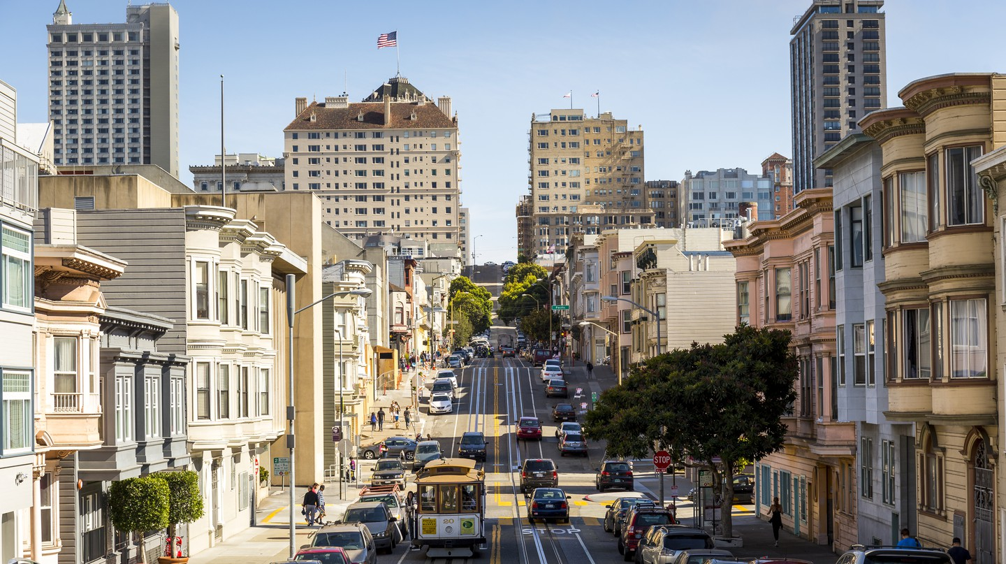San Francisco is brimming with history, with many historic hotels to show for it