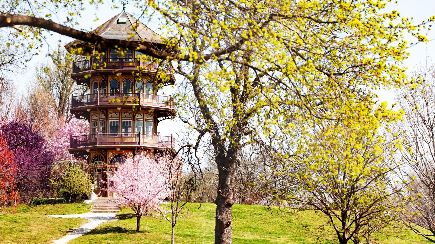 Patterson Park's pagoda-style observation tower is an excellent example of the outdoor wonders to be found in Baltimore
