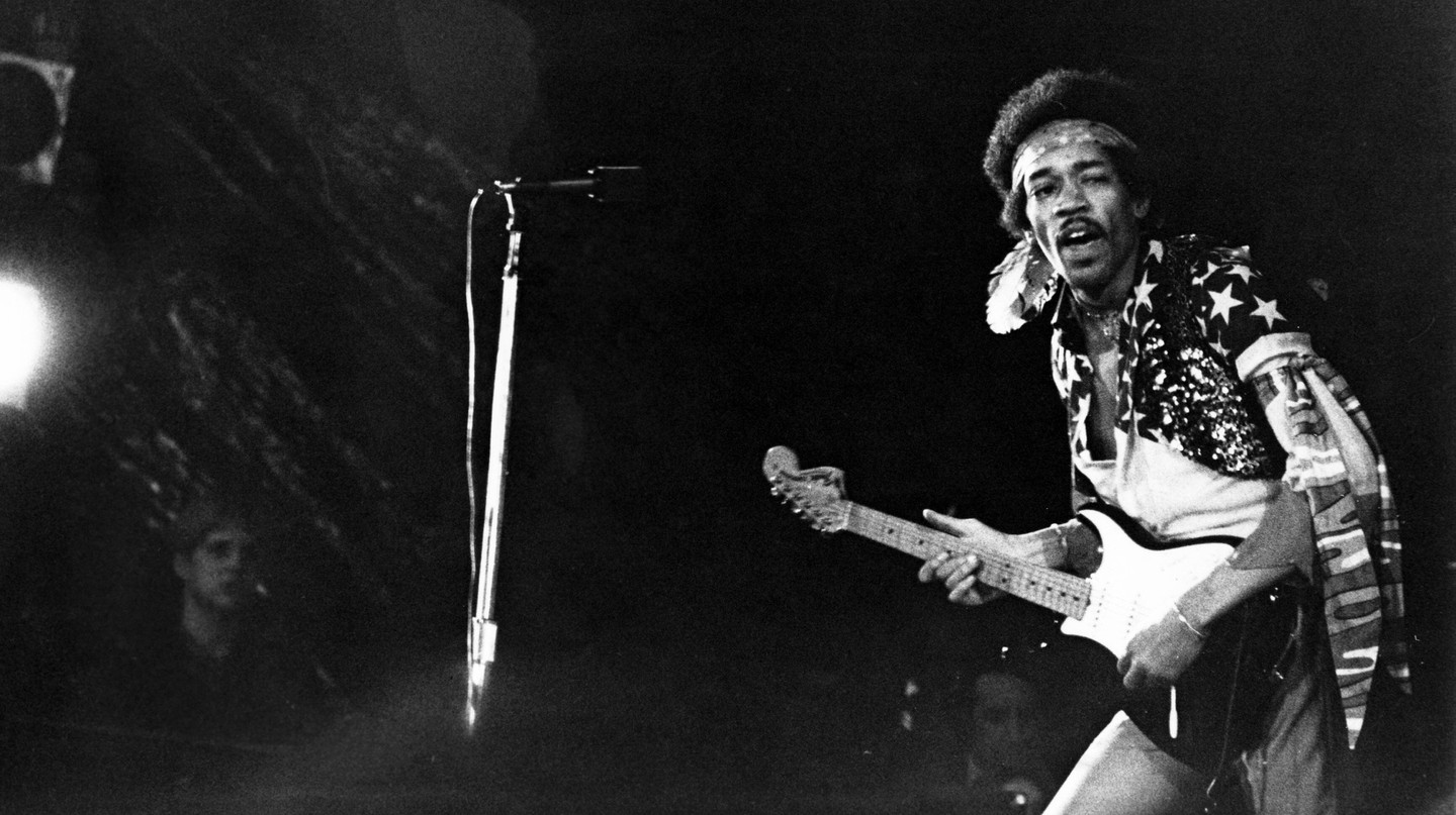 Jimi Hendrix spent the final years of his young life in London