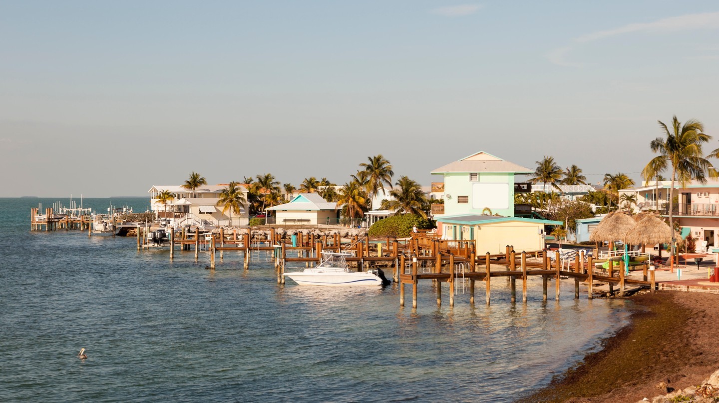 Key Largo in the Florida Keys archipelago has a chilled-out, island time atmosphere