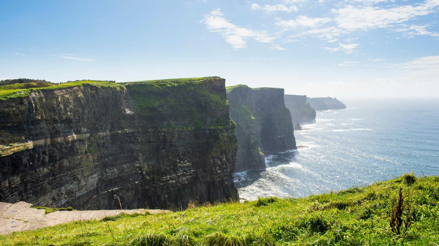 Cliffs of Moher, Republic of Ireland, Europe.