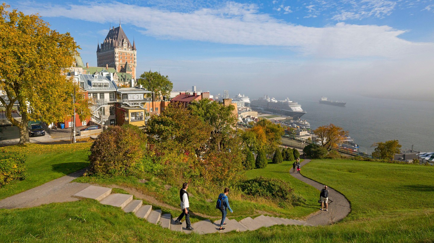 There are plenty of family-friendly activities in Quebec City