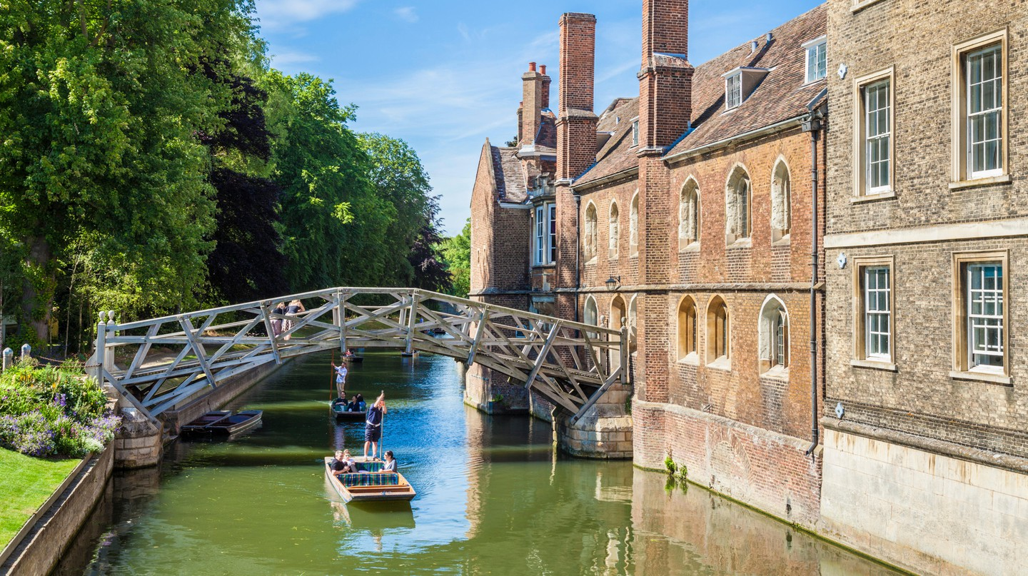 The Mathematical Bridge at Queens' College in Cambridge is a Grade II-listed structure