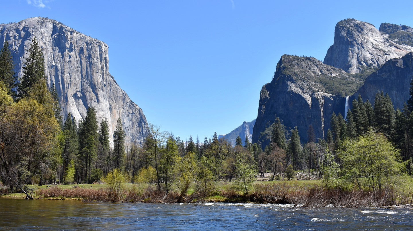 Escape the city for the stunning wilderness of Yosemite National Park
